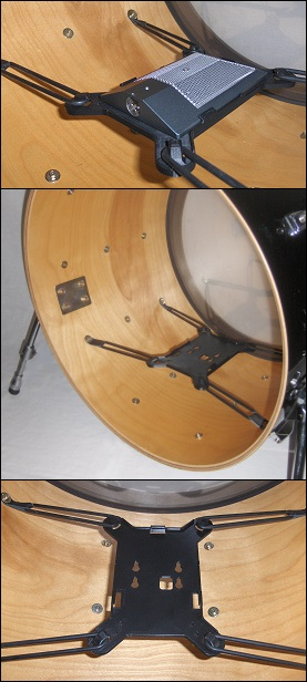 Kelly Shu Flatz Internal Bass Drum Mic Mount
