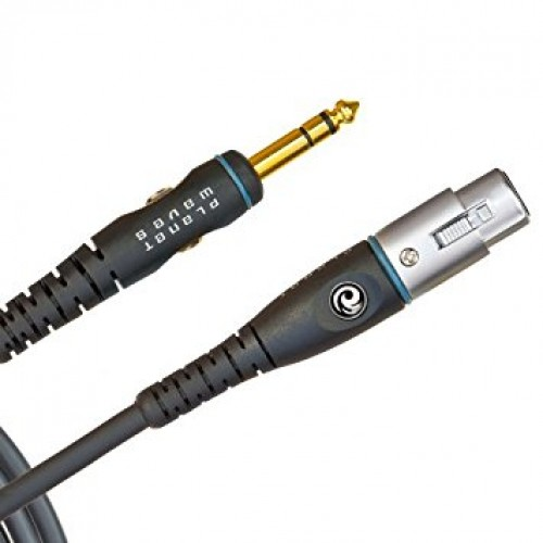"Planet Waves Custom Series Microphone Cable - XLR to 1/4"" Jack"