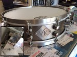 VK Custom Drums 14x4.5 Rolled Titanium